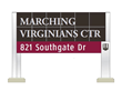 Virginia Tech Band Gets Home Field Advantage