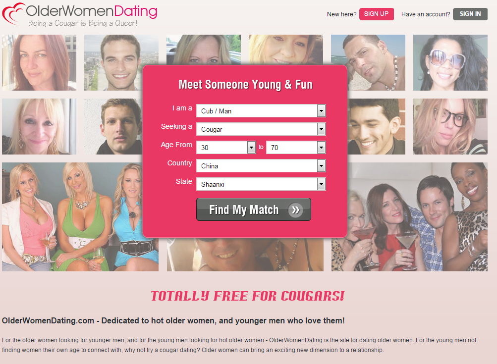 licking cougars dating site Lesbian cougars now have a dating site to hunt for cubs look out, matchcom there is a new dating site ready to help mature lesbians who are looking for young sapphic love.