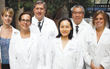 Dr. Celina Ang, (seen in middle), Assistant Professor, Medicine, Hematology and Medical Oncology, Icahn School of Medicine at Mount Sinai. Dr. Ang is one of Andrew's physicians.