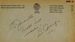 Lou Gehrig Signed Page