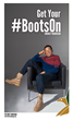 Smokey Robinson Gets His Boots On To Support America's Military By Joining Boot Campaign's Patriotic Awareness Movement