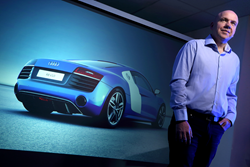 "ZeroLight CEO, Darren Jobling: ""Audi revolutionised the car purchasing process with the launch of their innovative Audi City dealerships and we're very proud to be supporting them build on that success."""