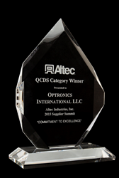 Altec QCDS Award, Altec QCDS Award image, QCDS Award