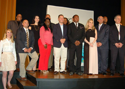 Community leaders honored at the 8th Annual Drug-Free Heroes Award Gala June 9 at the Church of Scientology New York.