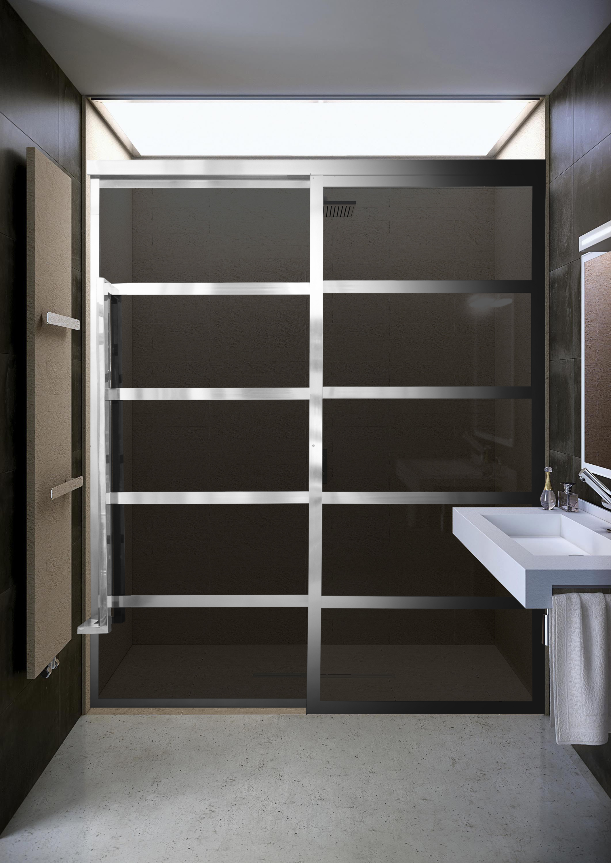 Coastal Shower Doors To Debut New Gridscape Gs2 Barn Door