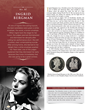 Ingrid Bergman on a commemorative coin.