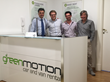 Green Motion Italia: Antonino, Davide, Giovanni and Matteo