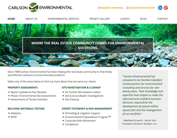 Carlson Environmental Consulting Web Launch