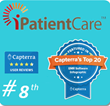 iPatientCare EHR Secured 8th Place for Most Popular EHR Software...