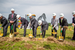 The groundbreaking ceremony for Fuchs North America's new headquarters facilities was held on June 23, 2015.