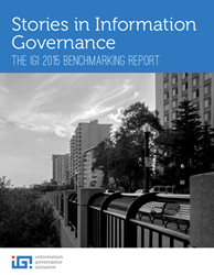 IGI 2015 Benchmarking Report: Stories in Information Governance