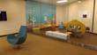 New children's play room in the dōTERRA Product Center