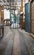 The look of weathered wood, the durability of porcelain