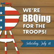 Arnie Bauer to Host USO BBQ for the Troops Saturday, July 18th