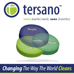 Green Cleaning Leader Tersano Inc. Focuses On  Building Services Contractors and Owners Who Want LEED, BOMA BESt and TBL Points Ahead of 2015 BOMA Every Building Show