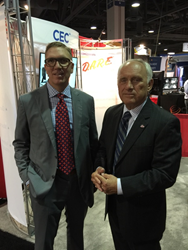 Corrective Education Company CEO Darrell Huntsman and D.A.R.E. President Frank Pegueros Announce Exclusive Partnership at National Retail Federation Conference