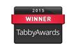 Tabby Awards winner badge