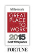 Talent Plus (R) Named No. 38 on FORTUNE Magazine's 2015 100 Best Workplaces for Millennials