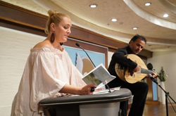 "The precept ""Safeguard and Improve Your Environment"" was read to musical accompaniment at the World Environment Day forum June 5, 2015, at the Scientology Center of Tel Aviv."