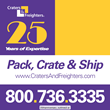 Craters & Freighters Celebrates 25 Year Anniversary by Launching...