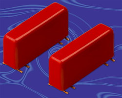 Coto Technology 2362 Series is a NEW surface mountable 2 Form C reed relay  designed for high reliability and long life.