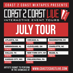 the largest independent artist showcase is now booking performers for july tour