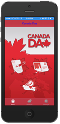 Canada Day Mobile App