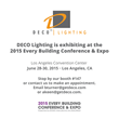 Deco Lighting to Exhibit at 2015 BOMA International's Every Building...