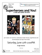Avi Gvili presented Kindness and Power in Superheroes & You! at the Historic Stapleton, New York Public Library June 27th 2015.