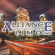 Alliance Limousine, Inc. Corporate Logo, limo, limousines, transportation, ride, car, car service, driver, jet, private jet, concierge, corporate, wedding, los angeles, southern califonia, california, las vegas, vegas, summer, deal, special, promotion