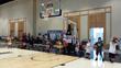 Sport Court modular floor at Dwyane Wade Fantasy Camp