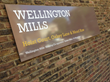 Wellington Mills London, wayfinding signage by Signbox Ltd