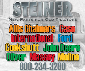 Steiner Tractor Parts fuels antique tractor restoration