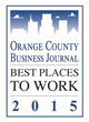 Orange Label Named Among Best Places to Work in Orange County