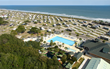 Aerial View Of Oceanfront Campground