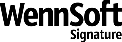 WennSoft Signature Logo