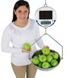 DETECTO's New Solar-Powered Hanging Scale for Foodservice Weighing
