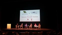Left to right: Lisa Rigsby Peterson, Benjamin Endsley Klein, Dr. Lucy Jane Miller, Sarah Metsh, Barb Komdat