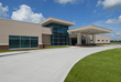 The finished hospital serves Pinckneyville and the surrounding area providing primary, emergency and hospital care.
