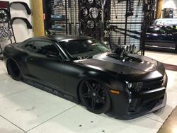 Leif's Garage Mad Max Camaro