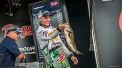 Wendlandt Takes Lead at Walmart FLW Tour on Potomac River Presented by Ranger Boats