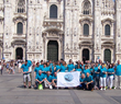 Scientologists in Milan, Italy, bring the truth about drugs to their city.