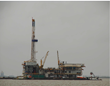 CEG Holdings, LLC. - Offshore Drilling Project in Galveston Bay, Texas - Day View