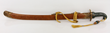Chinese Military Sword, Jade, Metal, and Wood