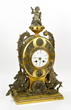 19th C. English Clock Dial, Bronze and Silver Plate