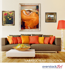 The overstockArt.com 2015 Summer Art Catalog
