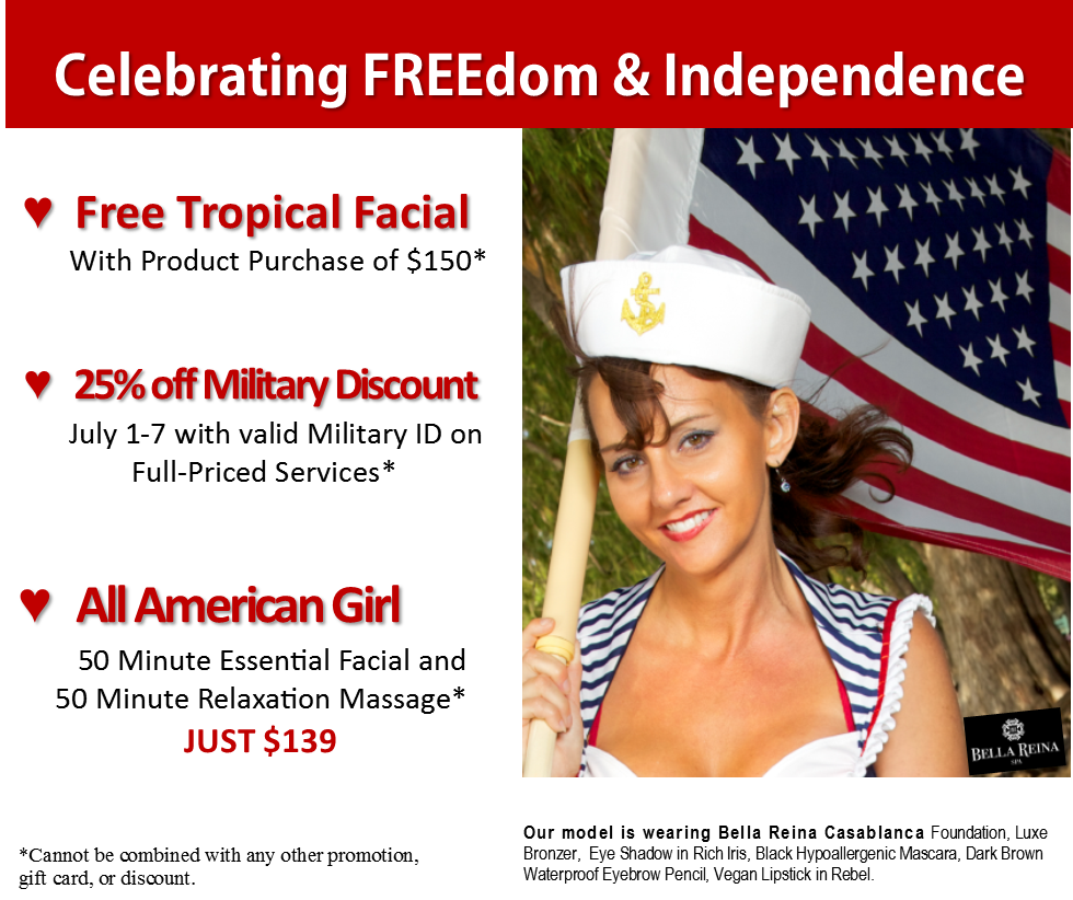 Veterans Day Spa Specials