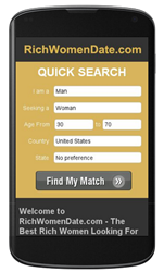 RichWomenDate.com - Rich Women Looking For Men