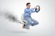 Toilet invention keeps well-endowed men safe