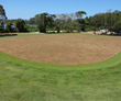 A beautiful view of the 12th green at Reserva de Marapendi in Rio for the 2016 Summer Games